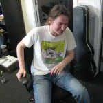 Flatulance-twittering chair