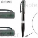 Ball Pen with Wi-Fi detector