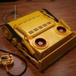 Yellow Bulldozer PC case mod