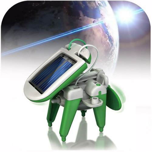 6 In 1 solar robot kit