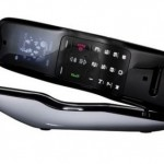 Alessi Cordless DECT phone with 65,000 color OLED display