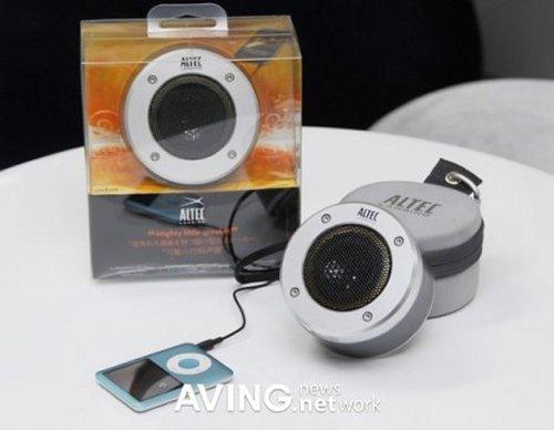 Altec Lansing IMT237-Orbit MP3 Portable Audio Speaker