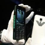Softbank unveils Emporio Armani phone