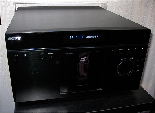Sony 400-disc Blu-ray changer