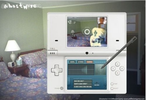 Use your Nintendo DSi to hunt ghosts