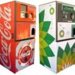 Envirobank's reverse vending machine