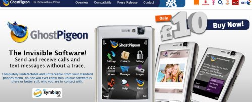 Ghost Pigeon: Untraceable calls and texts on your mobile phone