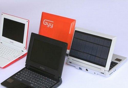 iUnika solar powered GYY netbook