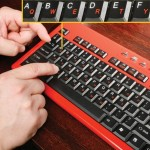 The Hunt 'n Peck Keyboard for those who never learned