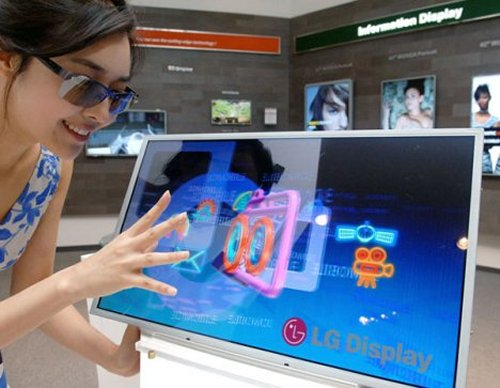 LG unveils 3D LCD display