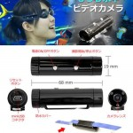 Video Water: Thanko's mini underwater camcorder