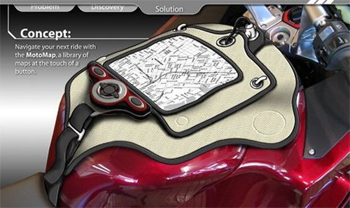 MotoMap GPS device for bikes