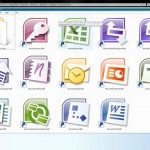 Screenshots of Office 2010