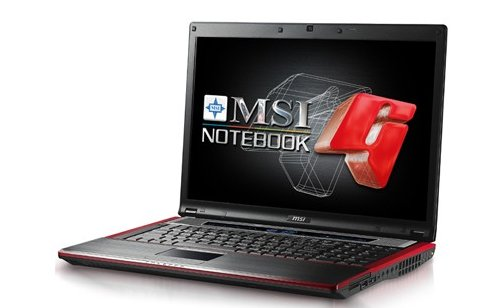 MSI's Turbo Drive GX723 gaming laptop unveiled