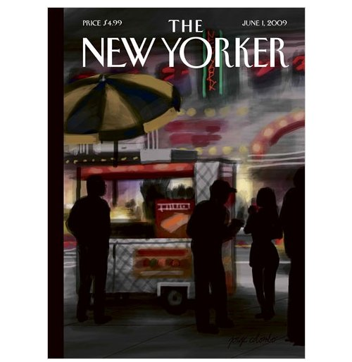 iPhone-generated artwork hits the cover of The New Yorker