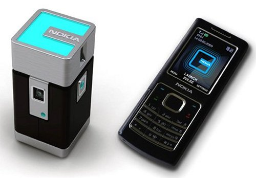 Pocket Projector turns your mobile into a remote