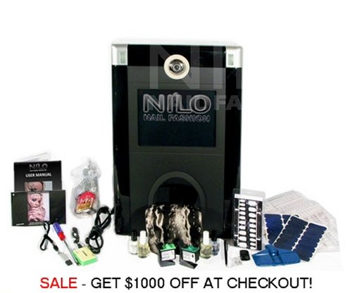NILO Nail Fashion Printer