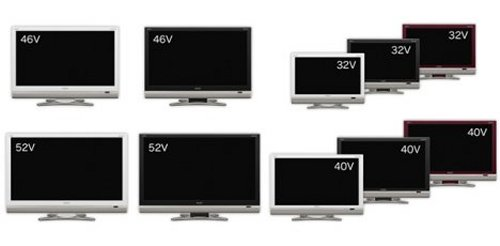 Sharp intros new range of Aquos full HD LCD TVs