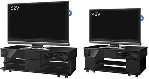 Sharp announces two new Aquos TV racks