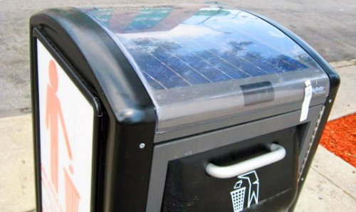 Philadelphia rolls out solar-powered trash compactors