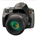 Details of Sony a230, a330, and a380 DSLRs emerge