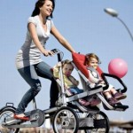 Taga stroller/trike for moms who are tired of pushing their kids