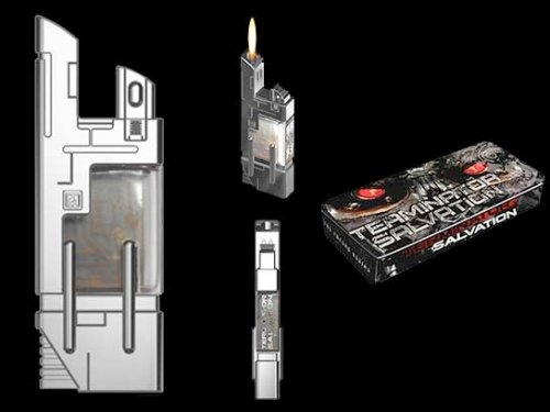 Terminator Salvation Nuclear Fuel Cell lighter