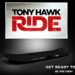 Tony Hawk Ride game includes motion-sensing skateboard controller