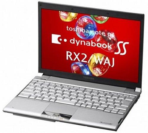 Toshiba Dynabook SS RX2/WAJ with 512GB SSD