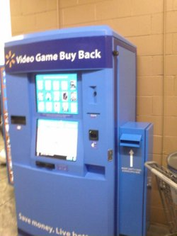Wal-Mart launching video game trade-in kiosks