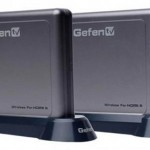 GefenTV Wireless HDMI extender sends 1080p HD video up to 100 feet away