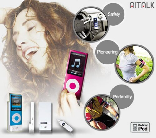 Talk to your iPod with the AITALK Voice Controller