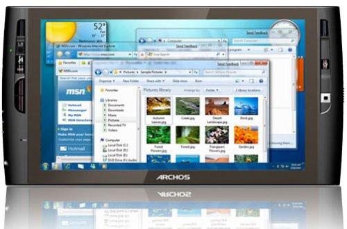"""Archos launches 9"""" Windows 7 Tablet UMPC"""