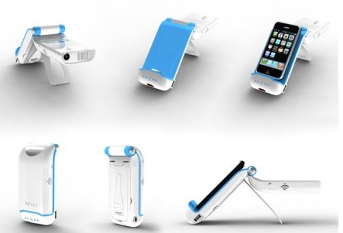 BeamBox MiLi Evolution Mini Power Projector for iPhone, iPod touch