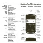 Blackberry Tour specs leaked