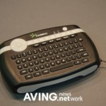 Cideko Air Keyboard is also a 3D mouse, remote control