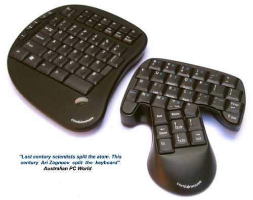 Combimouse: Keyboard and Mouse collide