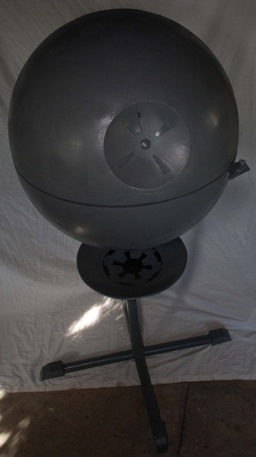 Star Wars Death Star grill