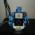 Lego Robot dock assimilates iPods