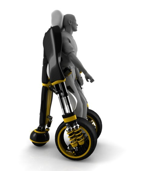 Elevating wheelchair concept