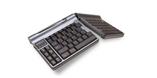 Goldtouch Go! Keyboard folds in half