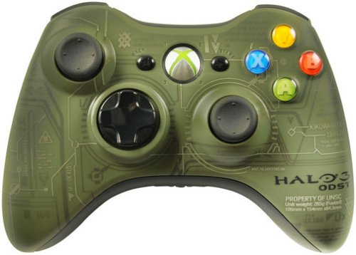 Halo 3 ODST Limited Edition controller