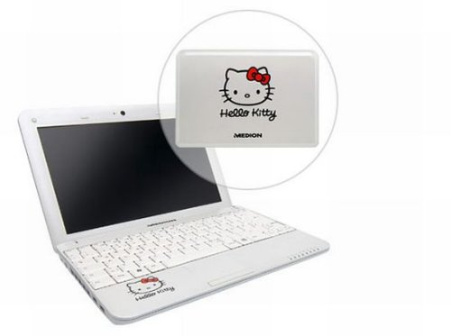 Medion delivers S1211 Hello Kitty mini notebook