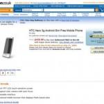 HTC Hero pre-order at Amazon UK