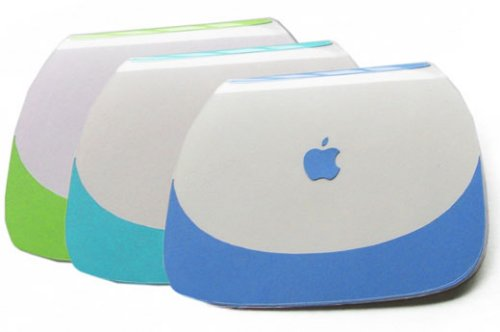 Clamshell ibook greeting cards