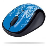 Logitech V220 notebook mice now in colors and trippy patterns