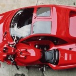 Motorcycle has the largest sidecar ever