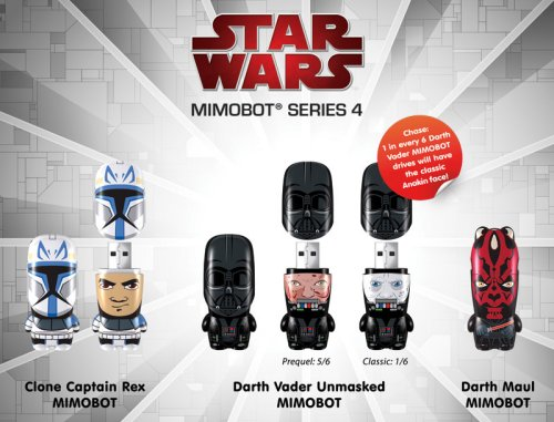 Mimoco is offering up their latest clever Star Wars mimobot flash drives.