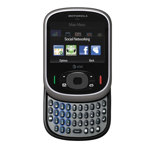 Motorola Karma QA1 with Facebook and MySpace