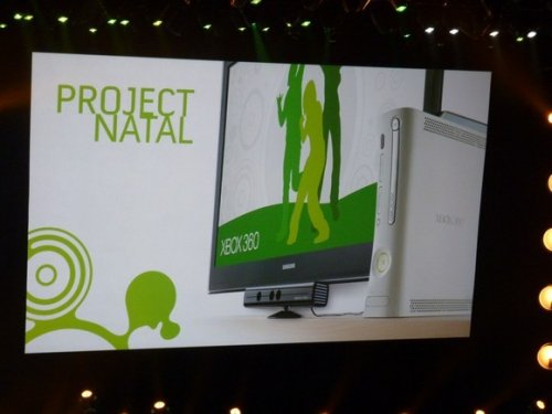 Microsoft announces &quot;Project Natal&quot; motion controller for Xbox 360